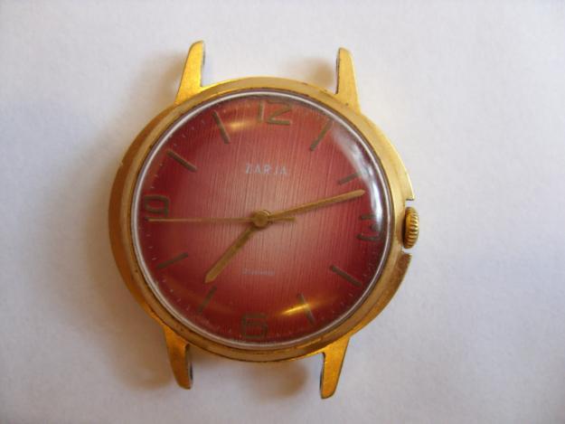 Продам мужские часы Заря (Позолота AU 10), prodam-muzhskie-chasy-zarja-pozolota-au-10, Механические часы
